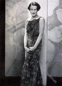 Chanel, Dress, haute couture, vintage, art-deco