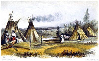 Cree, wigwams, Native American, Native indian, Gwich'in, Gwitchin, Saviah, Alaska, Kutchin, Kutcha-Kutchi