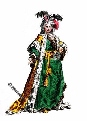 Empress, Sultaness , Sultane Reine, Ottoman Empire, Queen, costume
