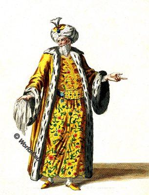 Emperor, Turkish Sultan, Ottoman Empire, Costume history