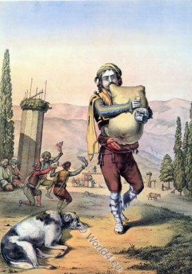 Armenian Piper, Ottoman costumes, Ottoman Empire, Historical Clothing, Turkey, Costume history