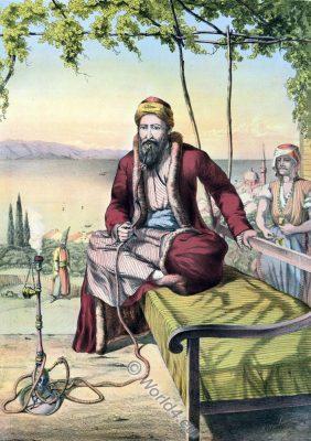 Jewish Merchant, Oriental Album, Ottoman costumes, Ottoman Empire, Historical Clothing, Turkey, Costume history
