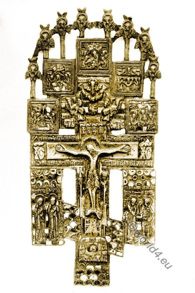 Russian, Icon, christi, cross,British Museum