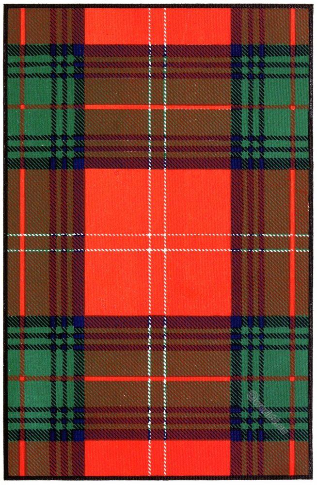 Tartan, Clan, Chisholm, Scottish, Scotland