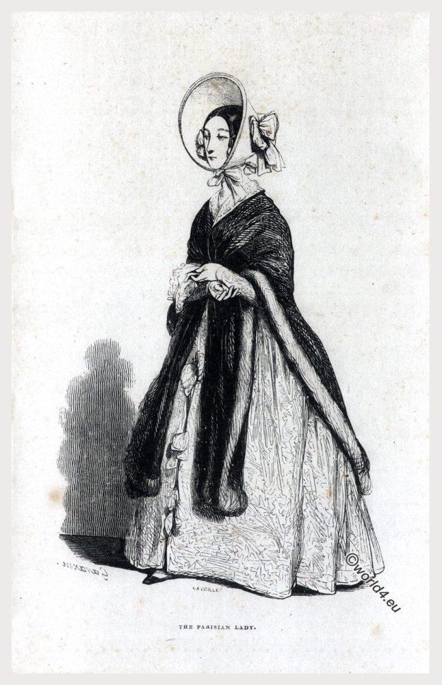 FEMME, COMME, IL, FAUT, Honoré de Balzac, PARISIAN, LADY, Costume, fashion, romantic,