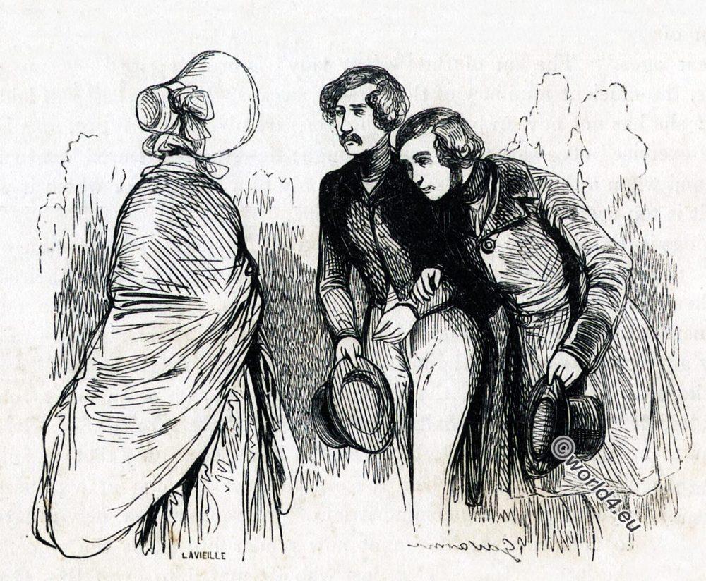 PARISIAN, LADY, FEMME, COMME, IL, FAUT, Honoré, de, Balzac, fashion, romantic