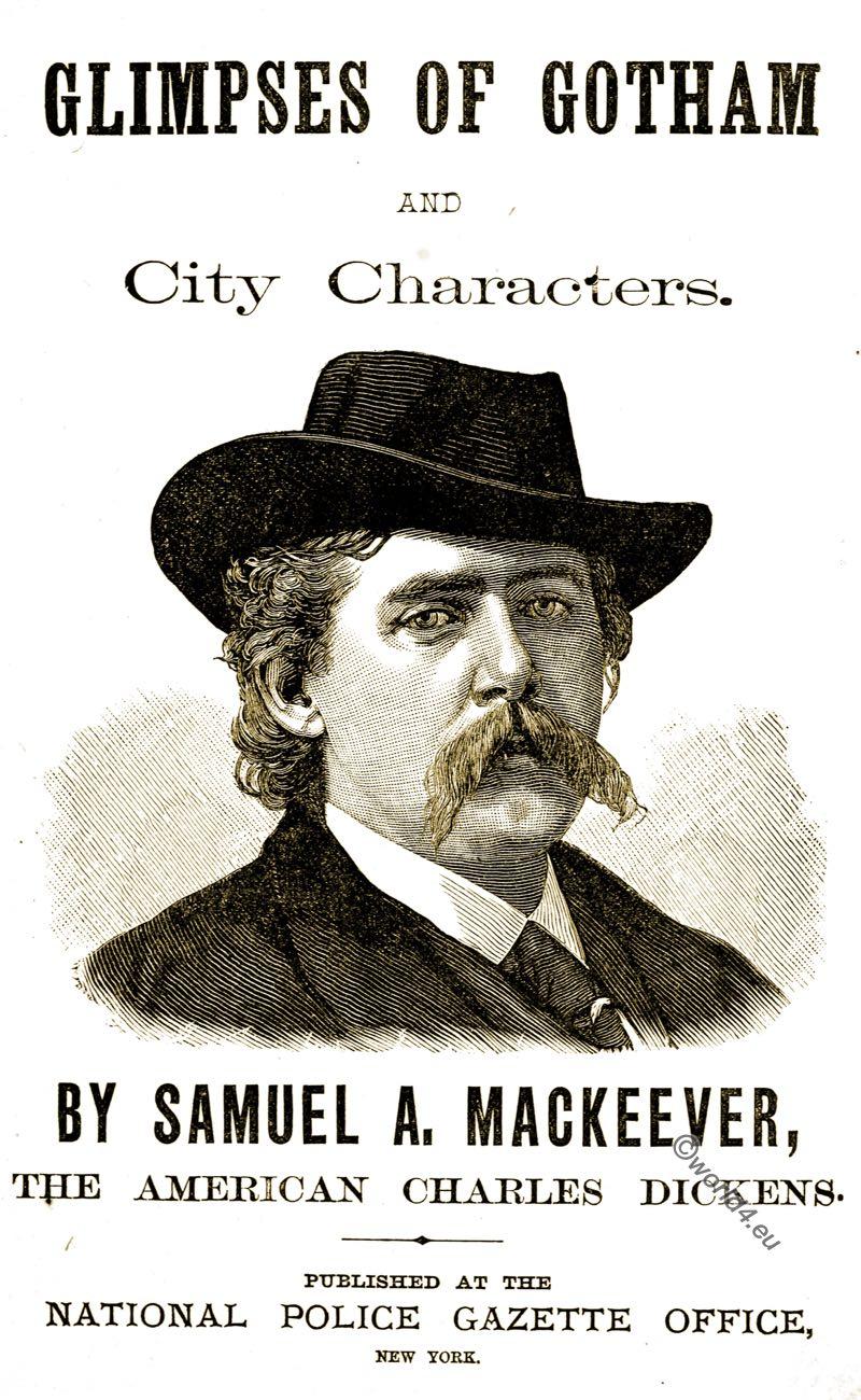 Samuel Anderson Mackeever, Gotham, Author, New York, costume, theater