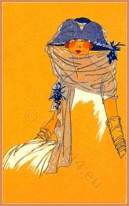 Chapeaux, Cora Marson, flapper, roaring twenties, fashion, cloche hat,