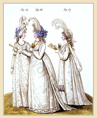Ranelagh, Heideloff, Jane Austen, Regency, Neoclassical, Gallery, Fashion, Costumes, dresses,