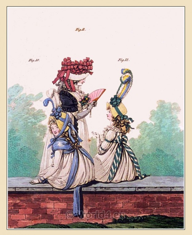 Regency, costumes, Kensington Gardens, Gallery, Fashion,