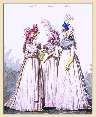 Regency, Jane Austen, Lawn petticoat, fashion, costumes