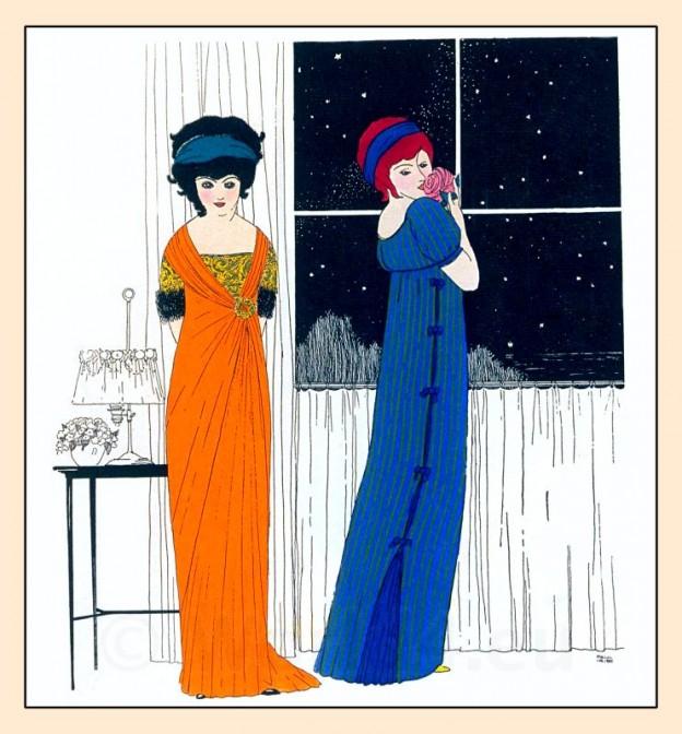 Paul Poiret, Art Nouveau, Fin de siècle, Belle Époque, fashion,