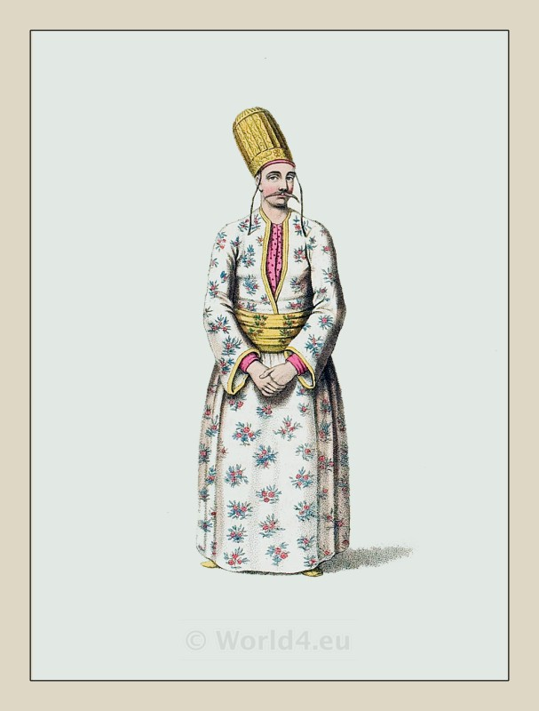 Page, Turkish, Sultan, Ottoman, empire, historical clothing