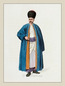 Armenian costumes. Historical Armenia clothing. Ottoman Empire