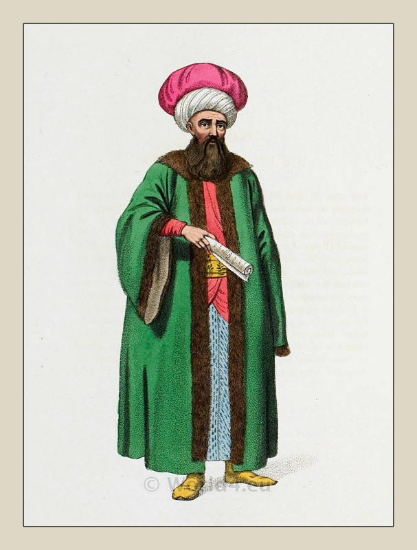 Reis Efendi. Ottoman empire historical clothing