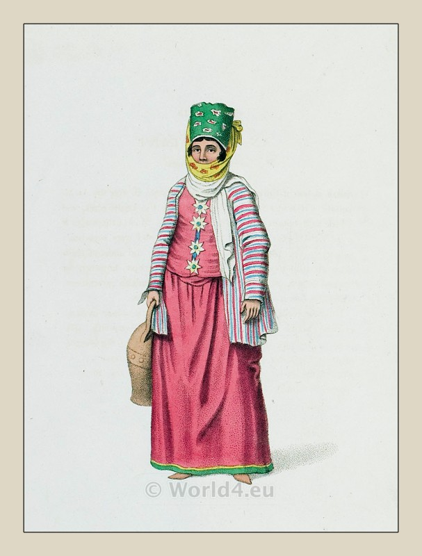 Symi, Greek, clothing, Ottoman Empire, costume