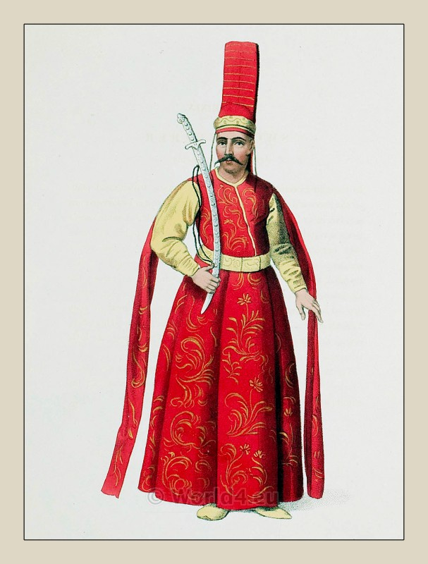 Selictár Agá, Sword Bearer, Ottoman, Empire, officials, costumes