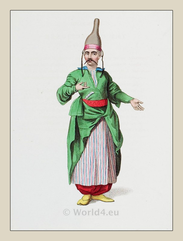 Chief, confectioner, Ottoman, Empire, costumes.