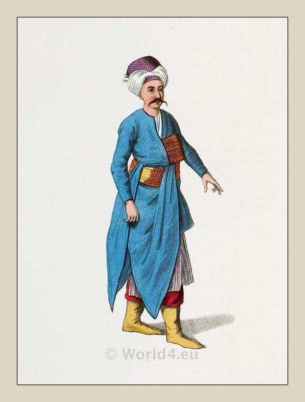 Tchocadar, costume, Ottoman, empire, clothing, costumes