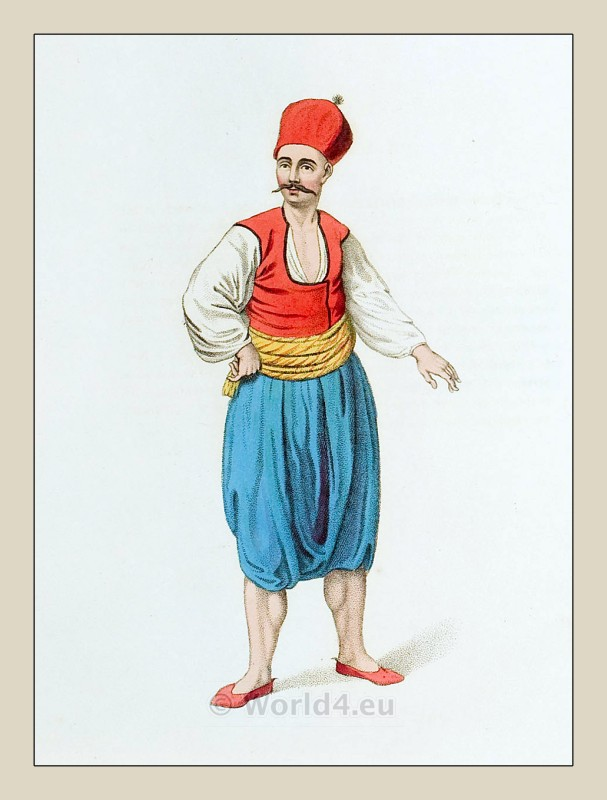 Greek, sailor, costume,