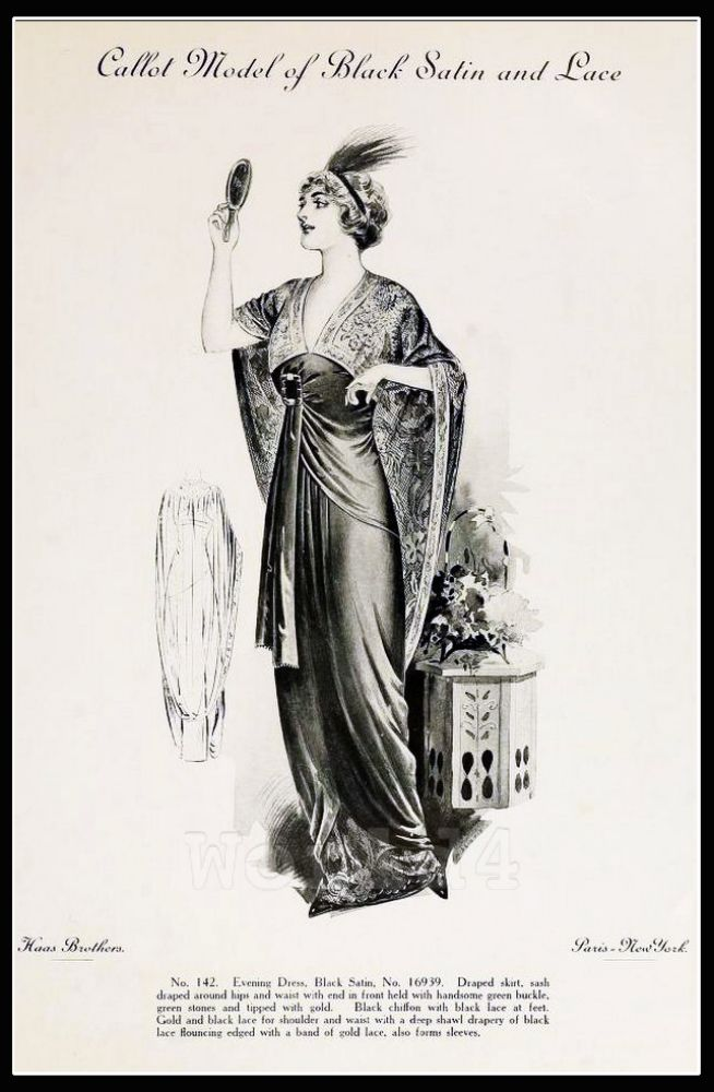 Callot Soeurs, costume, Fin de siècle, fashion,