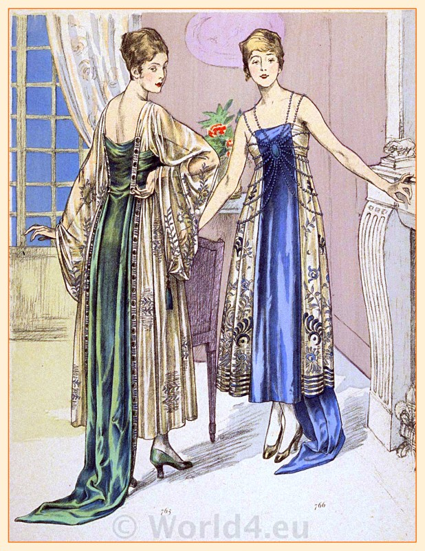 Maurice Lefranc, fashion, art-deco, costumes