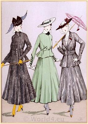 Worth, Cheruit, Dœuillet, Le Style Parisien, Fin de siècle fashion. Belle Epoque