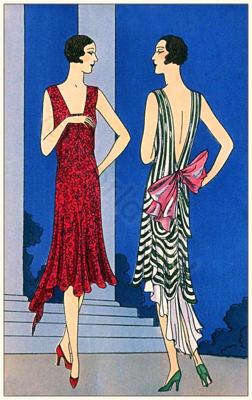 Nanteuil, Bernard et Cie, fashion history, flapper, 1920s