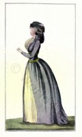 Fashion history. France Directory fashion
