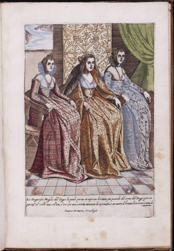 Italy, Venice, Venetian, costumes, Renaissance, Nobility, court dress