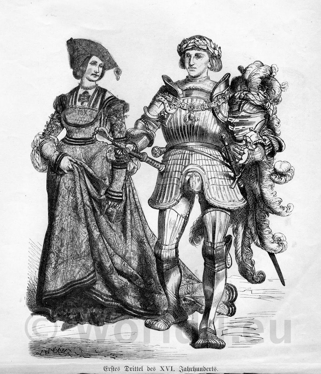 Middle Ages, Dresses, knight, armor, germany