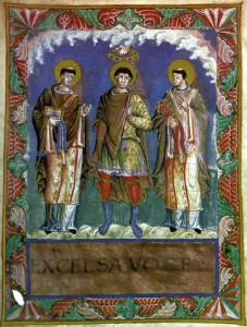 Charlemagne the Great . Carolingian Costumes.