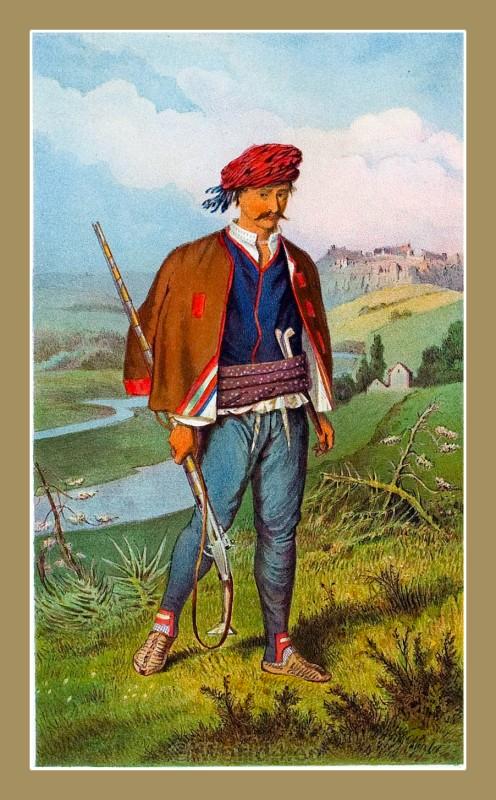 Knin, Croatia, traditional, national costumes, Balkans, Dalmatia, Serbian