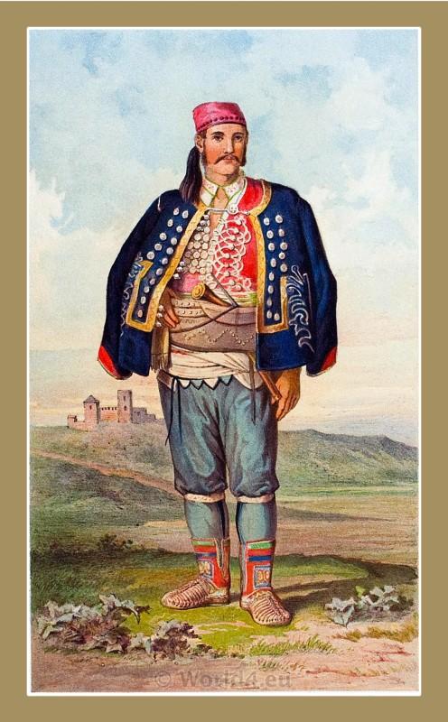 Benkovac, Croatia, traditional, national costumes, Balkans, Dalmatia, Serbian