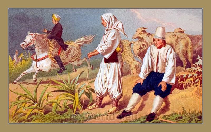 traditional, costumes, Čapljina, Dalmatia, Bosnia-Herzegovina, Serbian