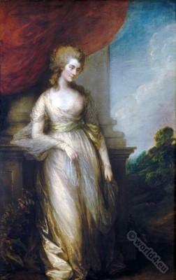 Georgiana Cavendish, Duchess, Devonshire, Thomas Gainsborough