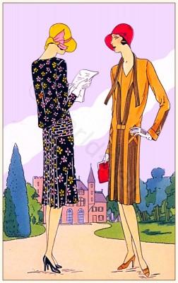 Mag-Helly, Joseph Magnin, fashion history, flapper, 1920s, Nostalgie