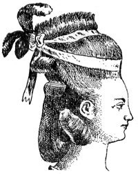 Hedgehog, 18th century, hairstyle,herrison