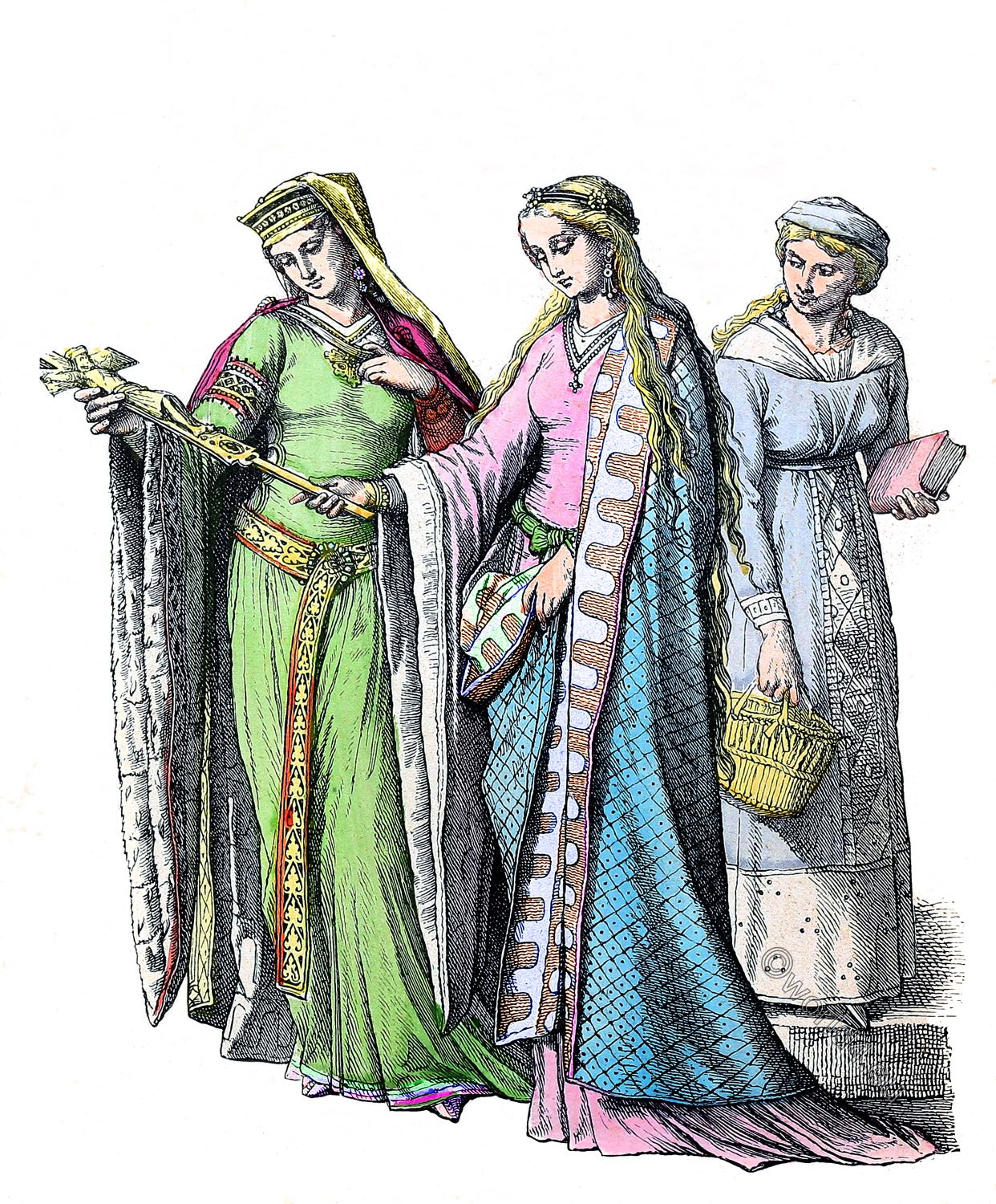 Middle Ages fashion history in Germany  | World4