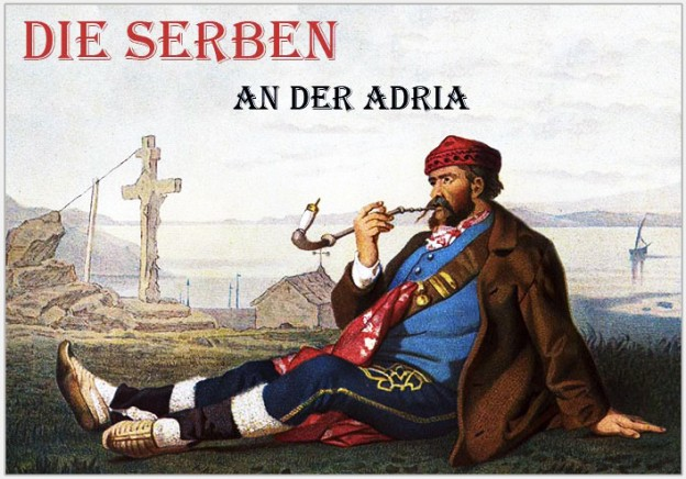 The Serbs in the Adriatic. Their types and costumes.