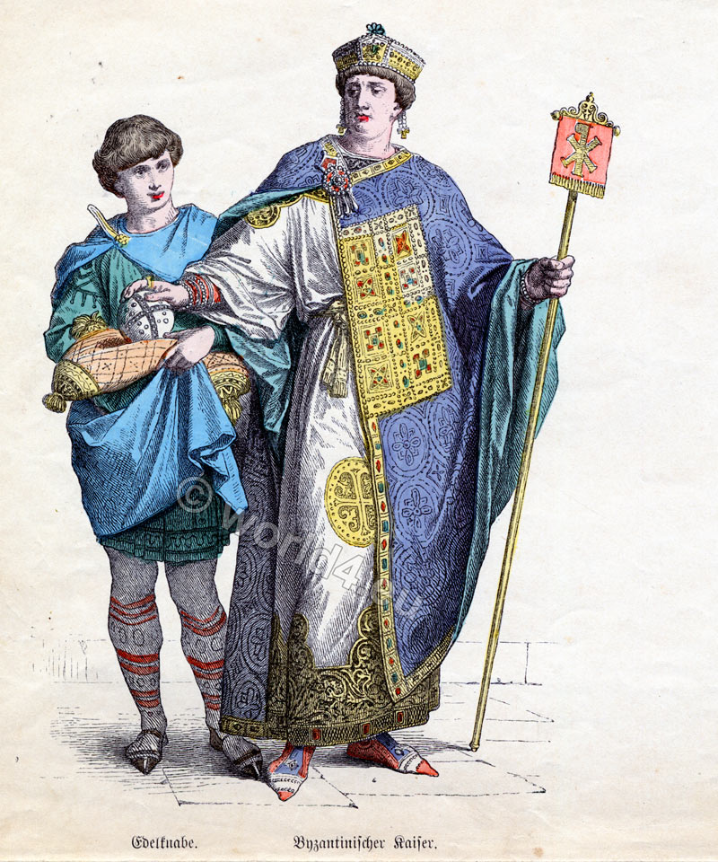 Byzantine, fashion, history, Emperor,