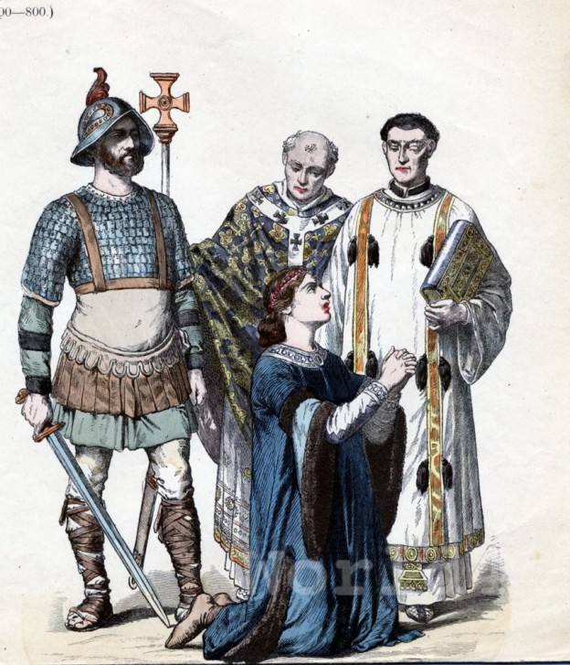 Carolingian, Fashion, History, Costume, history