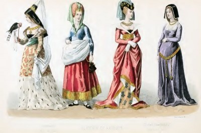 Middle ages, Fashion, History, Costume, history
