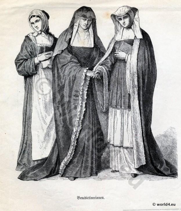 Nuns, Benedictine, Nuns, habit