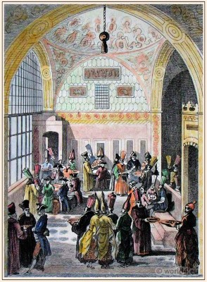 Grand Vizier Ottoman Empire dresses,Traditional turkish mens dress, caftan