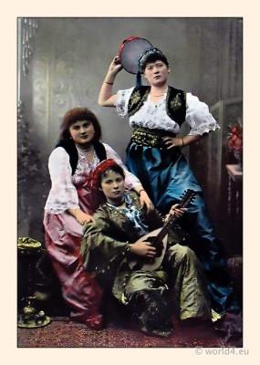 Ottoman Empire dresses,Traditional Turkey Costumes,Traditional turkish women's dress,Ottoman women's clothing