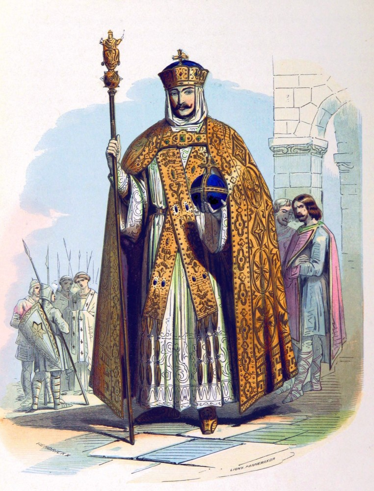 Charlemagne, King, Franks