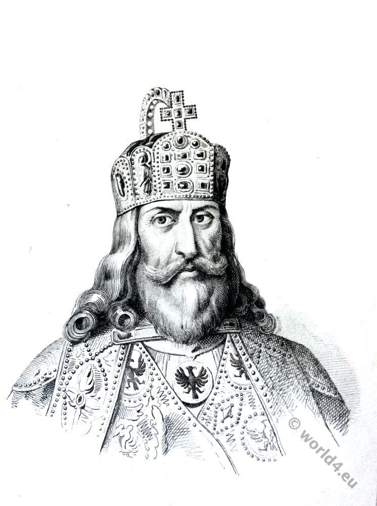 Charlemagne, Carolus Magnus, Carolingian, King, Karl der Große