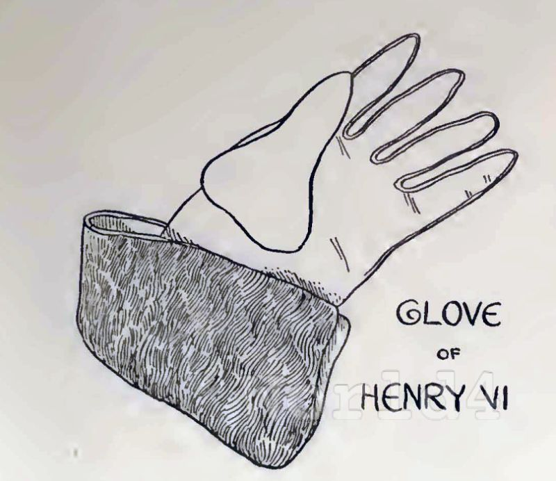 glove, Henry VI, fashion history, england
