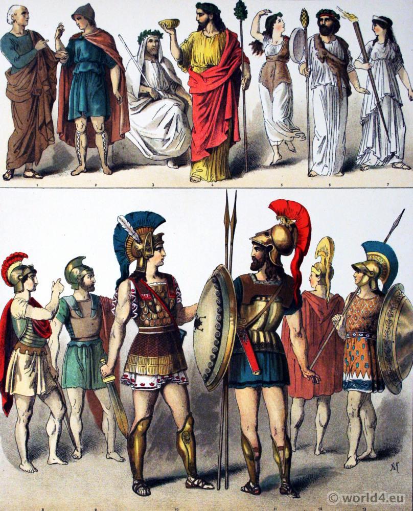 Ancient, Greek, Philosopher, Grecian, Citizens, Priest, Ceres, Priests, Bacchus, Female, Bacchantes, Priestess, Hoplites,